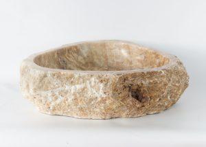 Lavabo forma irregular de piedra de Ónyx (imagen real)  55x46cm piezas únicas   mirococo.com