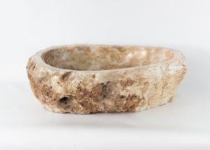 Lavabo forma irregular de piedra de Ónyx (imagen real)  54x40cm piezas únicas | mirococo.com