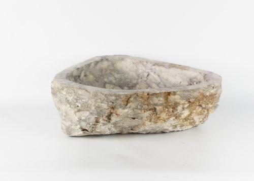 Lavabo con forma irregular de marmol jaspeado (imagen real)  44x35cm piezas únicas   mirococo.com