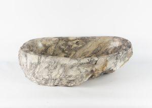 Lavabo con forma irregular de marmol jaspeado (imagen real)  60x40cm piezas únicas | mirococo.com