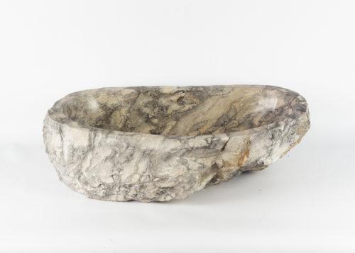 Lavabo con forma irregular de marmol jaspeado (imagen real)  60x40cm piezas únicas   mirococo.com