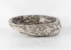 Lavabo con forma irregular de marmol jaspeado (imagen real)  52x37cm piezas únicas | mirococo.com