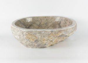 Lavabo con forma irregular de marmol jaspeado (imagen real)  50x40cm piezas únicas | mirococo.com