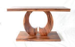 Consola de madera artdeco