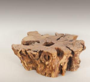 Mesa de Olivo de tronco natural de 23x60x70 | MiRococo.com