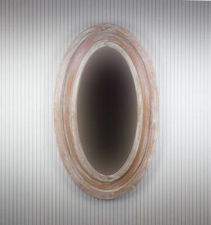 Espejo ovalado de pared
