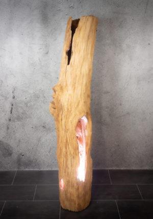 tronco lámpara decorativo