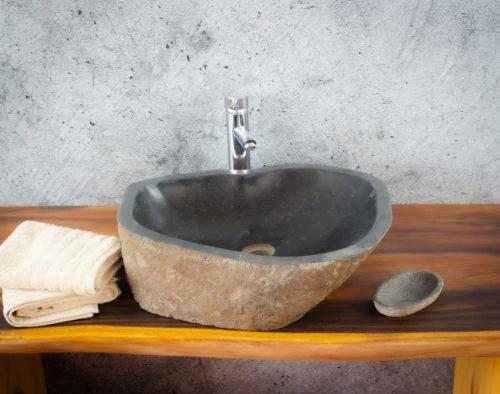 Lavabo River Megalític (imagen real)  55x44cm piezas únicas | mirococo.com