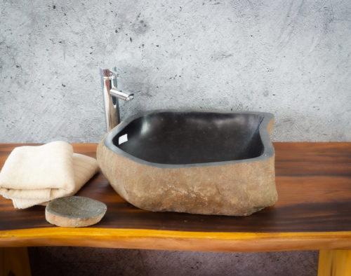 Lavabo River Megalític (imagen real)  50x42cm piezas únicas | mirococo.com