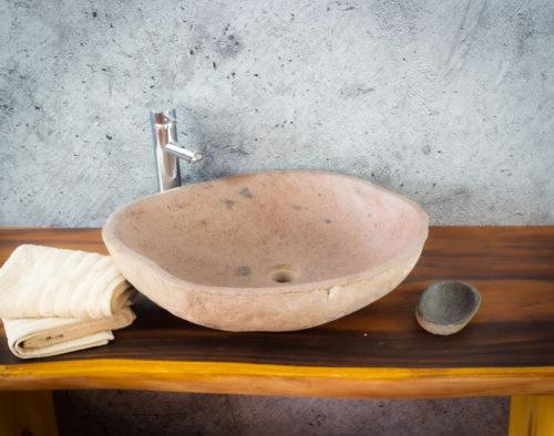 Lavabo River Megalític (imagen real)  60x51cm piezas únicas   mirococo.com