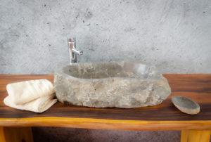 Lavabo mármol negro  1x1cm piezas únicas | mirococo.com