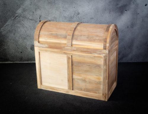 Baúl grande de madera de teca