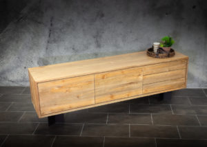 Aparador de madera de teca reciclada