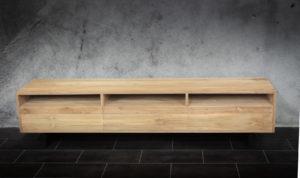 Mueble TV de madera de teca reciclada