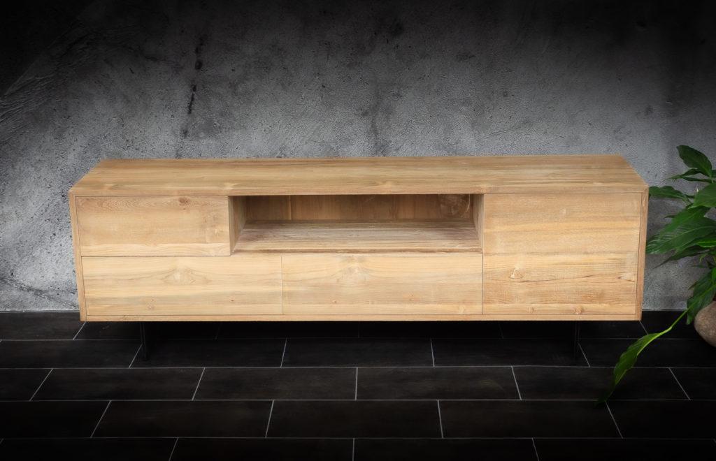 Mueble TV de 180 de madera de teca