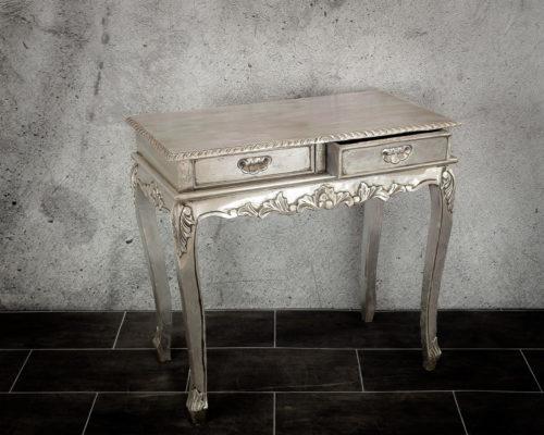 Consola plata isabelina Italian rococo