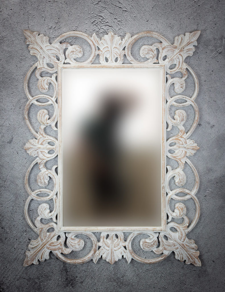 Espejo Italiano Mirror en banco