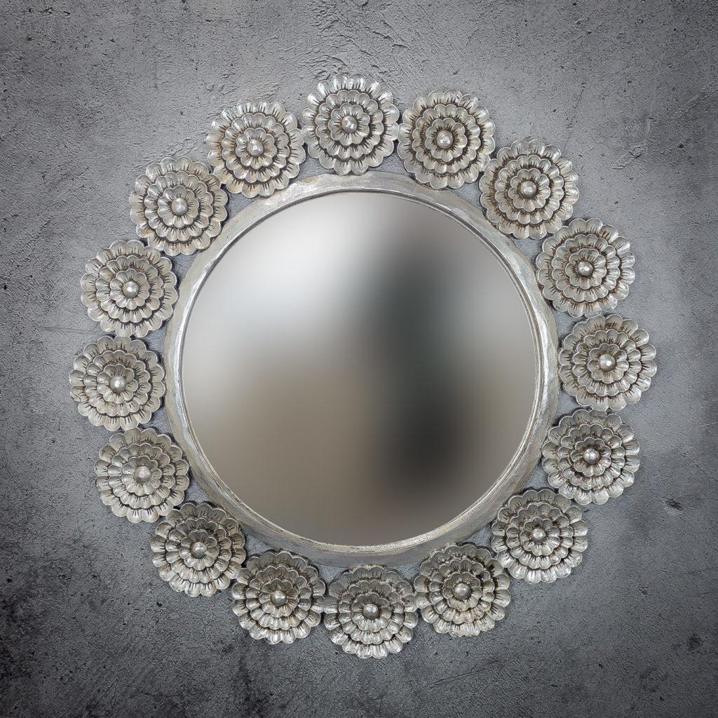 Espejo de pared decorativo Circle Holland de 120cm SL de 120x120cm. Rococó