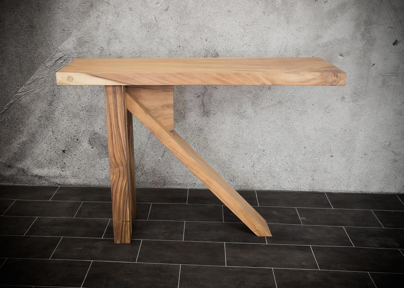 Barra bar de madera maciza de Suar