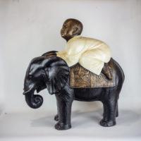 Elefantes de mesa