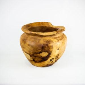 Bol decorativo de madera de Teca de 30x25cm aprox.. MiRococo