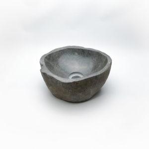 Lavabo pequeño de piedra River (imagen real). De 28x27