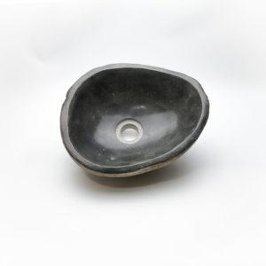 Lavabo pequeño de piedra River (imagen real). De 33x26