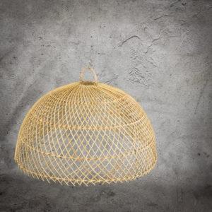 Lámpara de Rattan Semicircle de 60cm