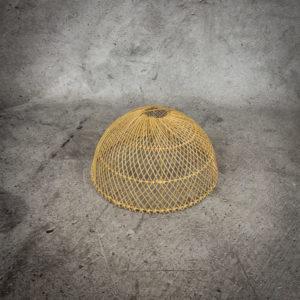Lámpara de Rattan Semicircle de 40cm