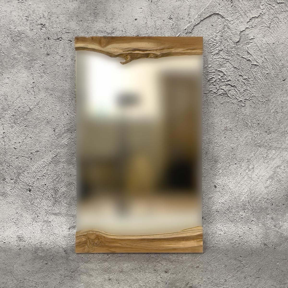 Espejo decorativo de madera de Tecaa de madera de Teca de 60x40