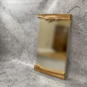Espejo decorativo de madera de Teca