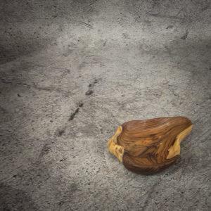Bol de madera de Palo de Rosa natural de 29x23x6