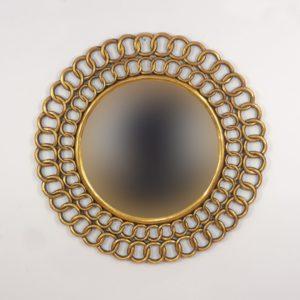 Espejo círculos cadena Rococó. 50199G