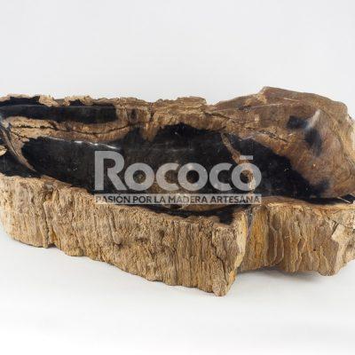 Lavabos de madera fosilizada