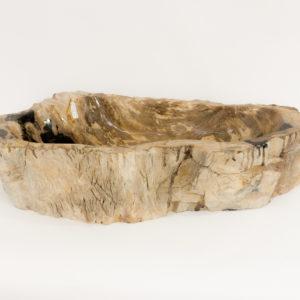 Lavabo de madera fosilizada de 71x33 piezas únicas | mirococo.com