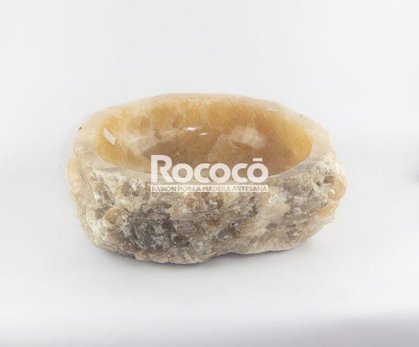 Lavabo de piedra de Ónyx de 43x41 piezas únicas   mirococo.com