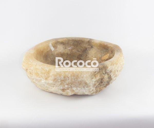 Lavabo de piedra de Ónyx de 42x36 piezas únicas   mirococo.com