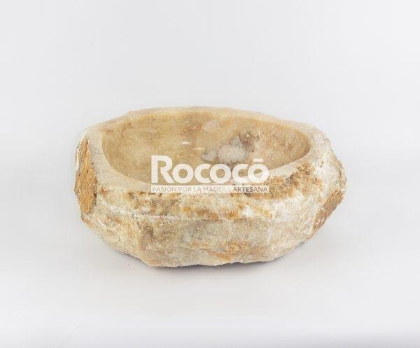 Lavabo de piedra de Ónyx de 42x37 piezas únicas | mirococo.com