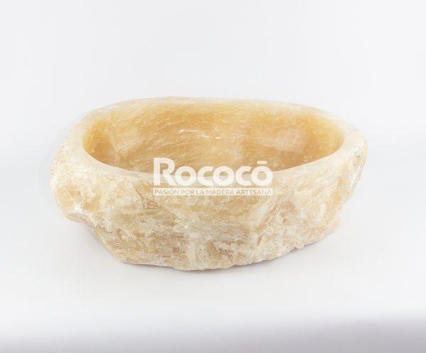 Lavabo de piedra de Ónyx de 49x36 piezas únicas | mirococo.com