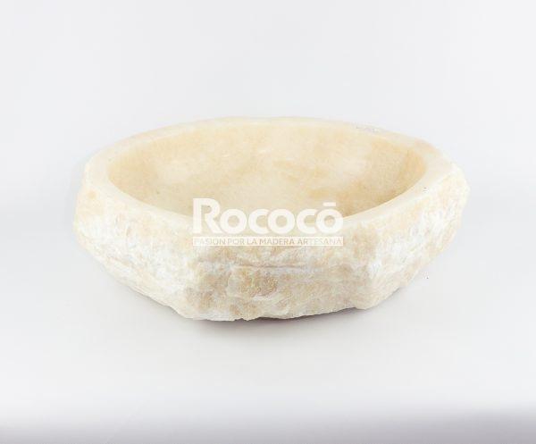 Lavabo de piedra de Ónyx de 46x40 piezas únicas | mirococo.com