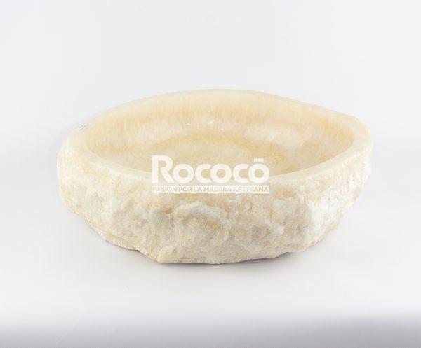 Lavabo de piedra de Ónyx de 49x38 piezas únicas | mirococo.com