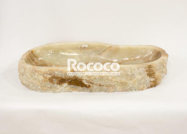 Lavabo de piedra de Ónyx de 61x53 piezas únicas | mirococo.com