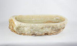 Lavabo de piedra de Ónyx verde de 80x40 piezas únicas   mirococo.com