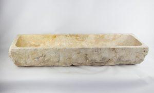 Lavabo doble de mármol Wastafel Lessung de 120x40 piezas únicas | mirococo.com